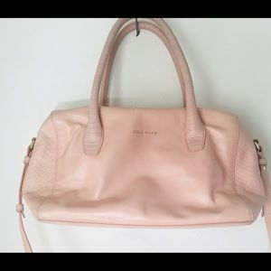 Cole Haan millennial pink leather purse crossbody